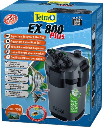Tetra EX 800 Plus - Filtre Extérieur pour Aquarium de 100 à 300L