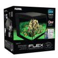 Fluval Aquarium Flex LED sans Meuble Bas pour Aquariophilie Noir 57 L