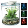 Marina 360 Aquarium with Remote Control LED Lighting, 10 Litre, Multicolour