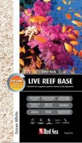 Red Sea Ocean White Sable d'Aragonite Vivant pour Aquarium, 10 kg