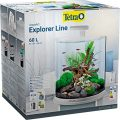 Tetra Aquaa. E Commerce Explorer Aquarium pour Aquariophilie LED Trop Blanc 60 L